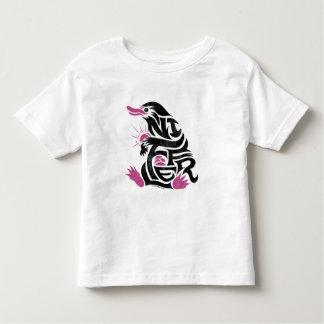 Gráfico de la tipografía de Niffler Camiseta De Bebé