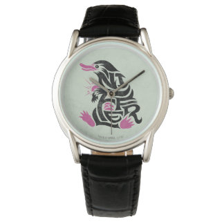 Gráfico de la tipografía de Niffler Reloj De Pulsera