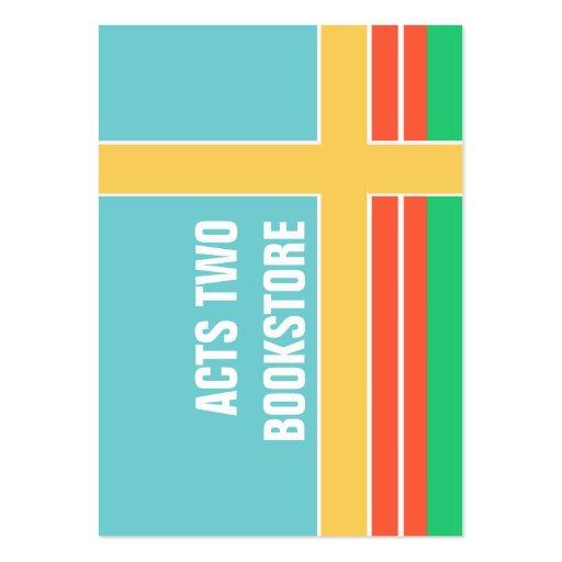 Gráfico de moda intrépido de Colorblock de la prim Tarjeta De Negocio