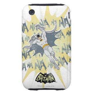 Gráfico de NANANANANANA Batman iPhone 3 Tough Protectores