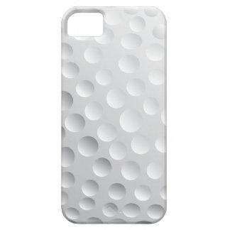 gráfico de vector de la pelota de golf funda para iPhone SE/5/5s