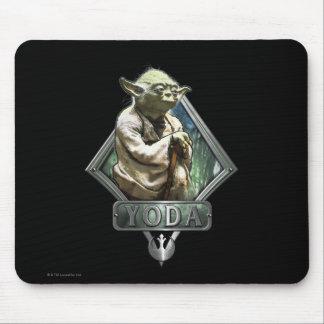 Gráfico de Yoda Alfombrilla De Ratón