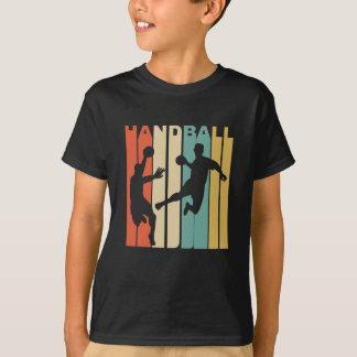 Gráfico del balonmano del vintage camiseta