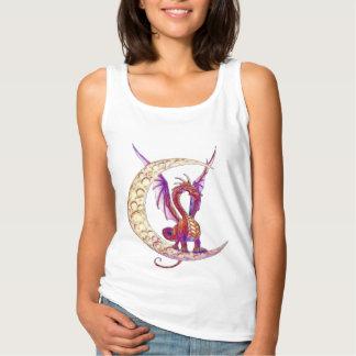 Gráfico del dragón 1 de Wiccan Camiseta De Tirantes Básica