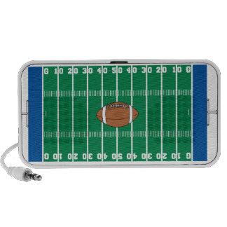 gráfico del terreno de juego del fútbol del hierro mini altavoces