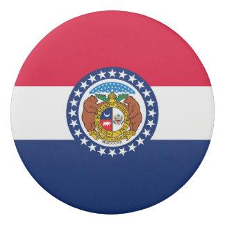 Gráfico dinámico de la bandera del estado de goma de borrar