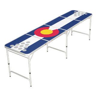 Gráfico dinámico de la bandera del estado de mesa de pong