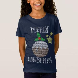 Gráfico feo de Navidad del modelo del suéter de