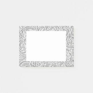 Gráfico floral de Scrollwork del vintage Notas Post-it®