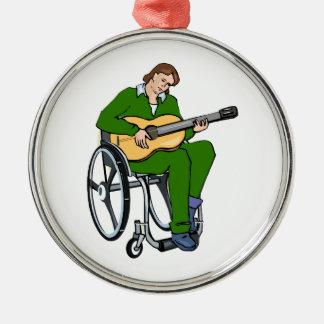 gráfico green.png de la silla de ruedas del guitar adornos