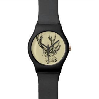 Gráfico principal del ejemplo de los ciervos relojes de mano