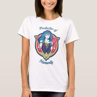 Gráfico tricolor de la Mujer Maravilla Camiseta