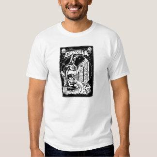 Grafitera CANZILLA - Retro SciFi monstruo cómic Camisas