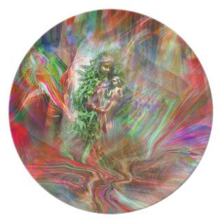 Grafiti Madonna Plate Plato