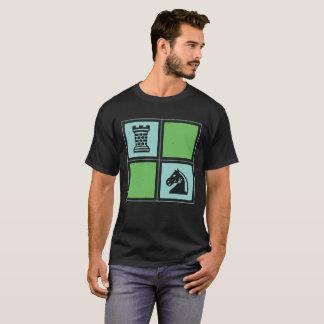 Grajo del caballero del ajedrez camiseta