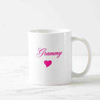 Grammy con el corazón taza de café