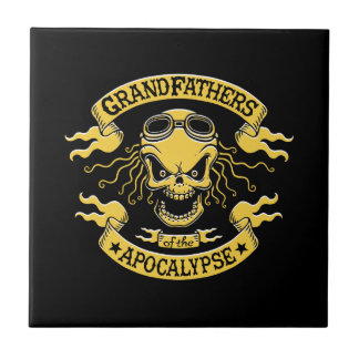 Gramps de la apocalipsis azulejo