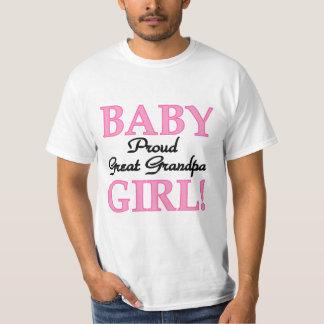 Gran abuelo orgulloso de las camisetas y de los