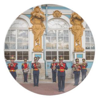 Gran banda de metales de Tsarskoye Selo del Plato De Comida