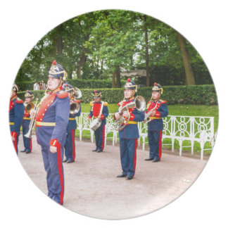 Gran banda de metales de Tsarskoye Selo del Plato Para Fiesta