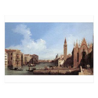 Gran Canal de Santa María Della Carita Postal