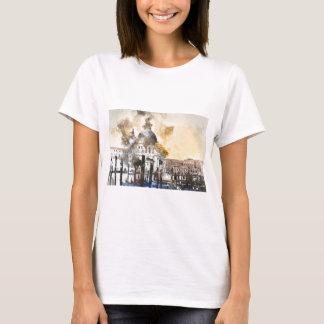 Gran Canal romántico de Venecia Italia Camiseta