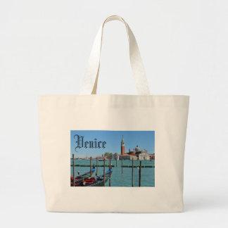 Gran Canal, Venecia, Italia Bolso De Tela Gigante