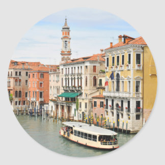Gran Canal, Venecia, Italia Pegatina Redonda
