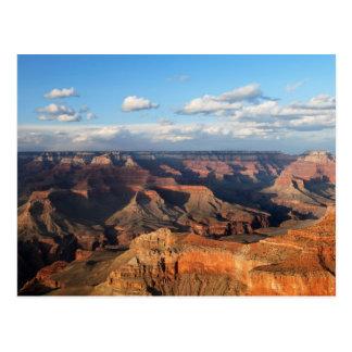 Gran Cañón visto de borde del sur en Arizona Postal