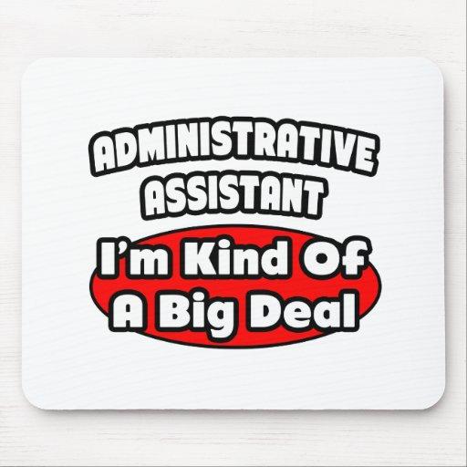 Gran cosa del ayudante administrativo… tapete de raton