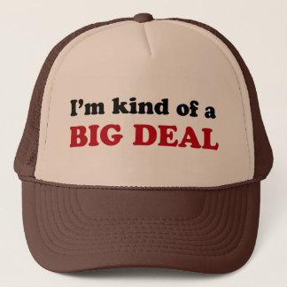 Gran cosa gorra de camionero