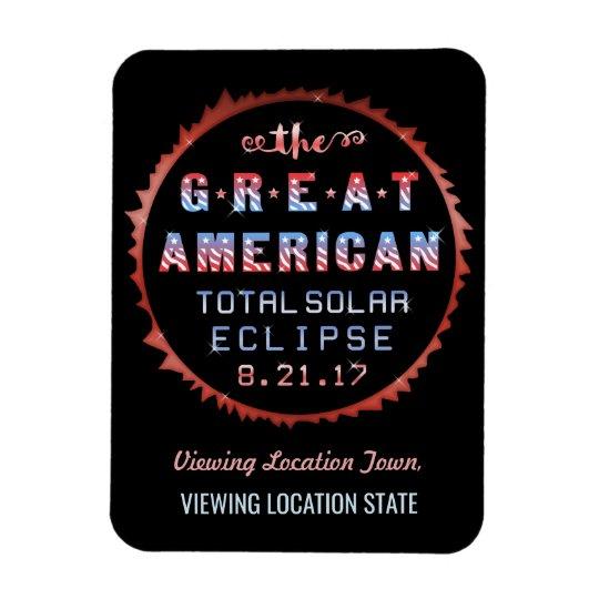 Gran eclipse solar 21 de agosto de 2017 total imán