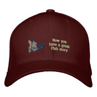 Gran historia de los pescados - gorra bordado gorras de béisbol bordadas