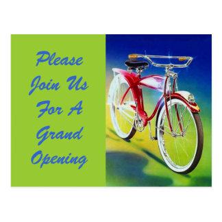 Gran inauguración de la bicicleta de la bici del e postales