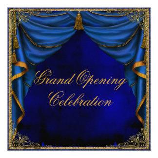 Gran inauguración del negocio corporativo del oro  invitacion personal