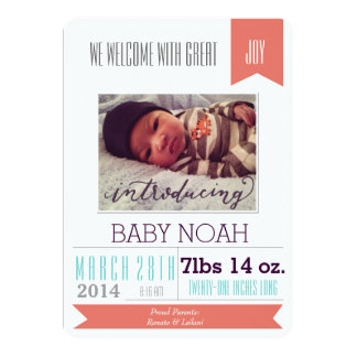 Gran invitación del nacimiento del muchacho