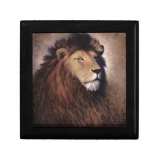 Gran león cajas de recuerdo