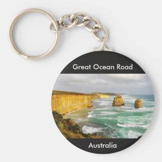 Gran llavero de Australia del camino del océano