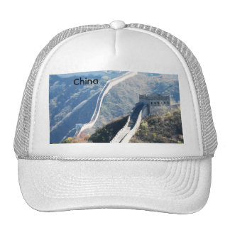 Gran Muralla de China Gorros Bordados