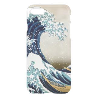 Gran onda de alta calidad de Kanagawa por Hokusai Funda Para iPhone 7