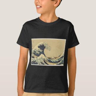 Gran onda de Hokusai de Kanagawa Camiseta