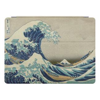 Gran onda de Hokusai de la bella arte de Kanagawa Cubierta Para iPad Pro