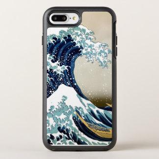 Gran onda restaurada de Kanagawa por Hokusai Funda OtterBox Symmetry Para iPhone 7 Plus