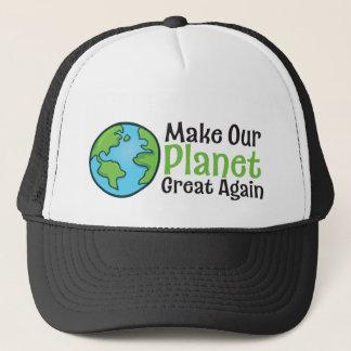 Gran otra vez gorra del camionero del planeta