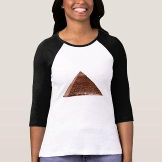 Gran pirámide - señoras 3/4 raglán de la manga camiseta