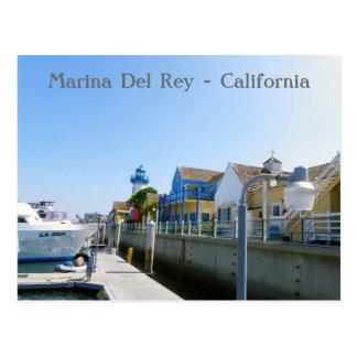 ¡Gran postal de Marina Del Rey!