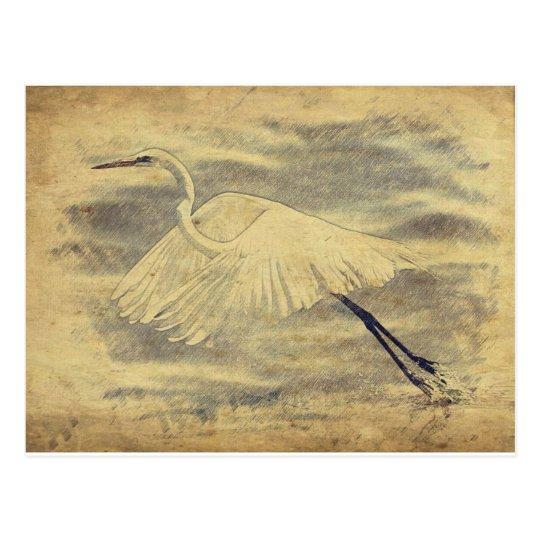 Gran postal del Egret