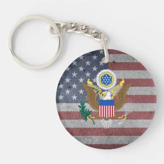 Gran sello de los Estados Unidos Llavero