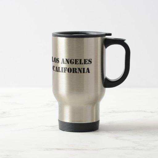 ¡Gran taza del viaje de Los Ángeles!
