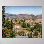 Granada, Andalucía, España Póster